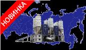 карта бетонных заводов и АБЗ